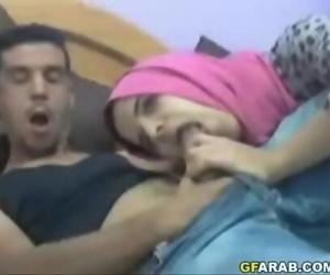 Arab Teen Sucks Big Cock 2 min