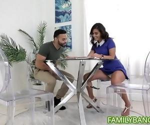Big Ass Latina Teen Gets Her..
