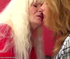 Old lesbian granny fucks..