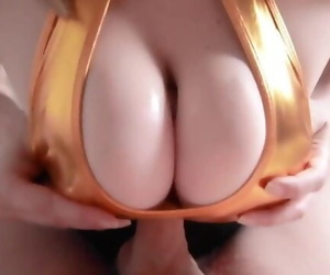 Amazing Clothed Titfuck..